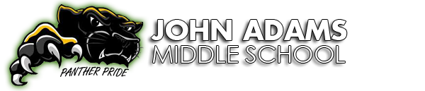 John Adams Middle School  Logo
